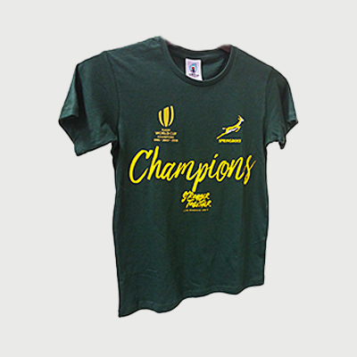 Springboks 2019 RWC Champions Tee- Junior