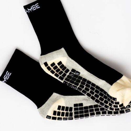 Asihambe Grip Socks Black